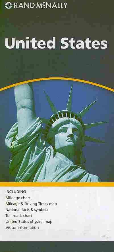 Rand Mcnally United States By Rand McNally and Company (COR)